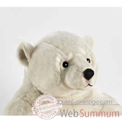 Anima - Peluche ours polaire assis 100 cm -1832 -1