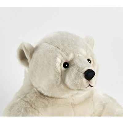 Anima - Peluche ours polaire assis 100 cm -1832