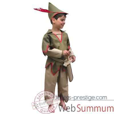 Bandicoot-C27-Costume Peter pan 6/8 ans