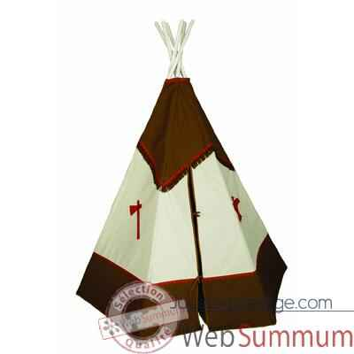 tipi d 39 indien bandicoot le tepee s11 dans tentes indiens sur jouets prestige. Black Bedroom Furniture Sets. Home Design Ideas