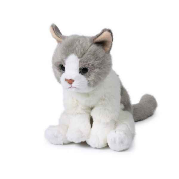 Peluche Chat assis 15 cm ACP -28179005