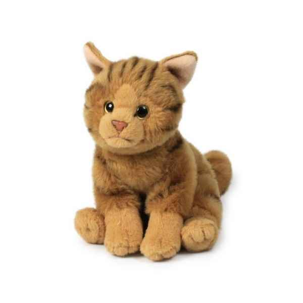 Peluche Chat assis 15 cm ACP -28179006