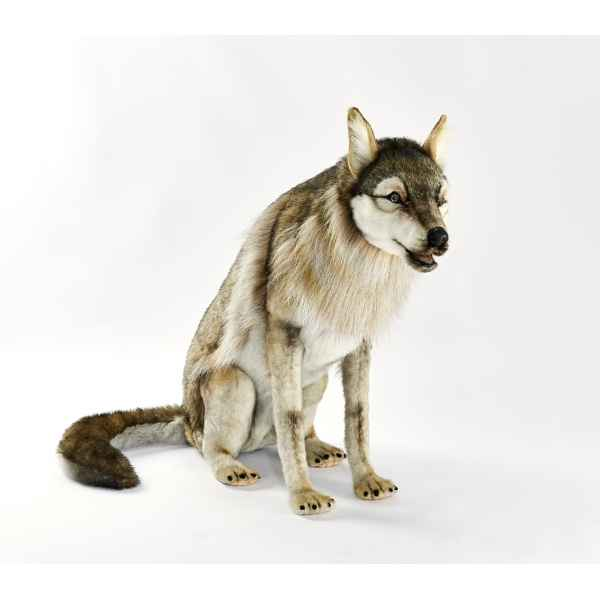 Loup assis 105cml Anima -6738