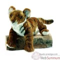 "Video Anima - Peluche tigre brun ""insolent"" 38 cm -4760"