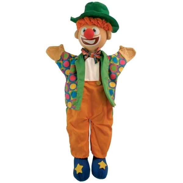 Marionnette a main clown Au Sycomore -MA35018