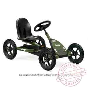 Jeep junior, kart a pedales vert Berg Toys -24.21.34