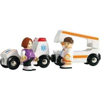 Ambulance son et lumiere BRIO -33575