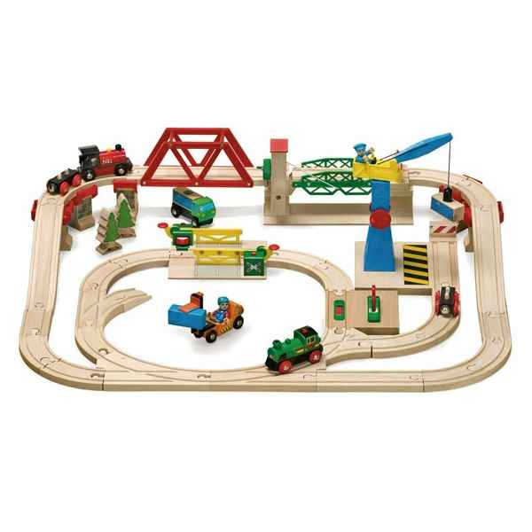 Coffret gare de triage - Brio 33076000