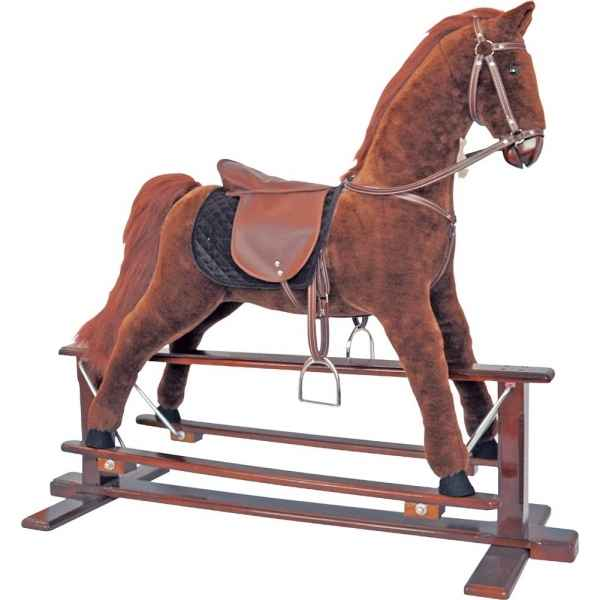 Cheval a bascule Anglaise Histoire d\'Ours grand modele 70cm -HO1214
