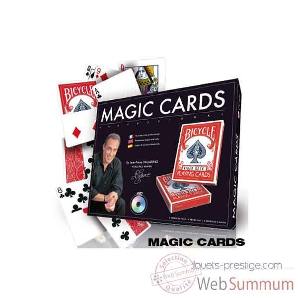 Coffret de cartes Vallarino Oid Magic avec DVD-CAR