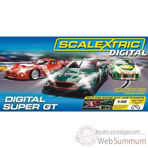 Coffret Digital Scalextric Super GT -sca1201p