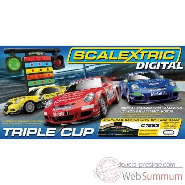 Coffret Digital Scalextric Triple Cup -sca1223