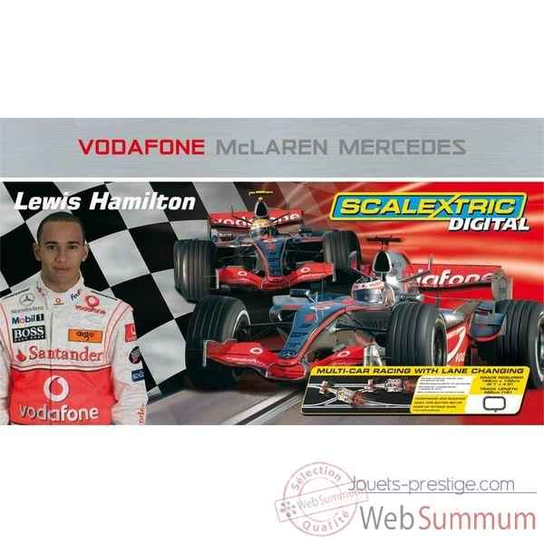 Coffret Digital Scalextric Vodafone McLaren Mercedes -sca1214p