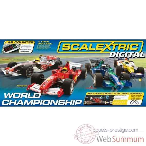 Coffret Digital Scalextric World Championship -sca1202p