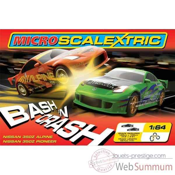 Coffret Micro Circuit Scalextric Bash n Crash-sca1049