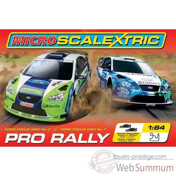 Coffret Micro Circuit Scalextric Pro Rally -sca1055