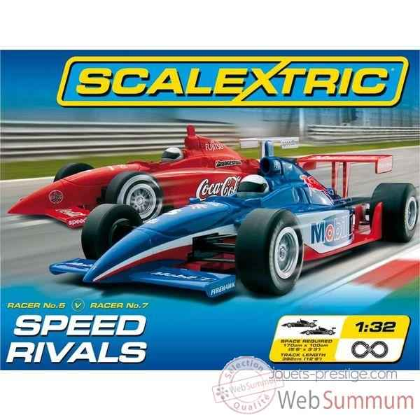 Coffret Sport Scalextric Speed Rivals -sca1206p