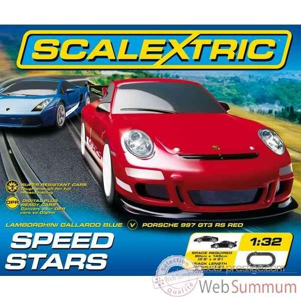 Coffret Sport Scalextric Speed Stars -sca1243