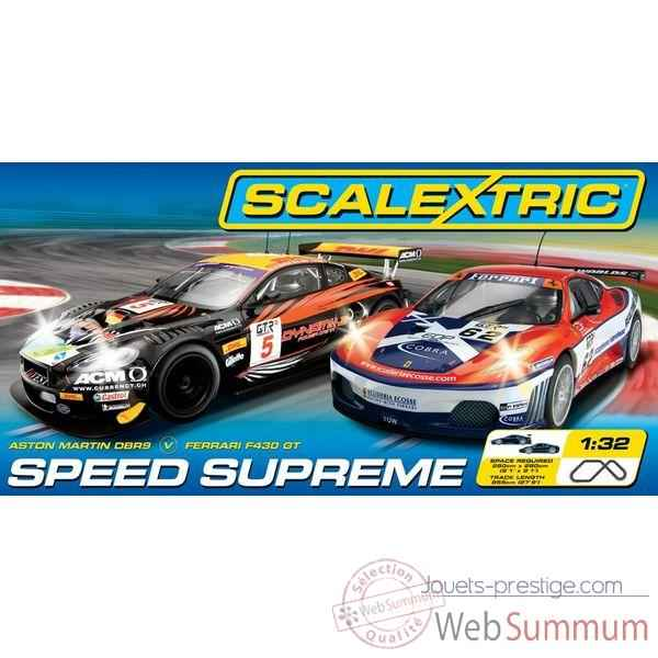 Coffret Sport Scalextric Speed Supreme -sca1219