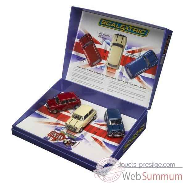 Coffret Voiture Scalextric Italian Job -sca2921a