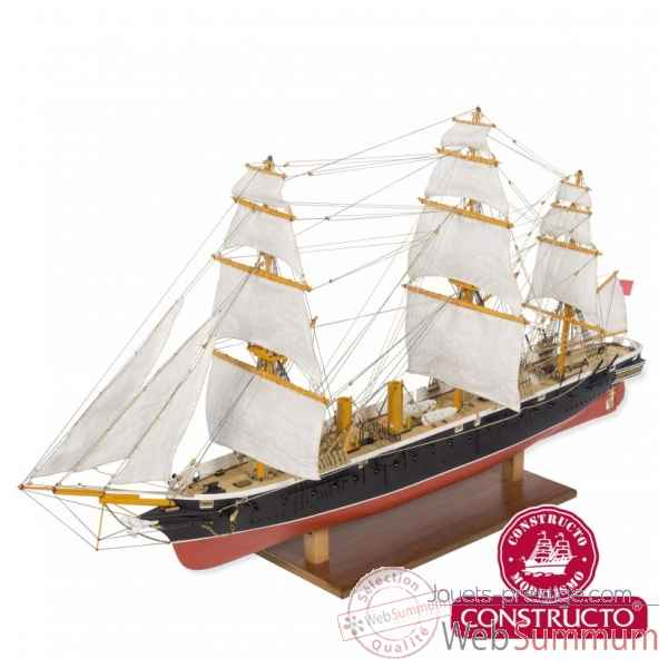 Maquette kit construction bateau warrior 1:200 Constructo -80845