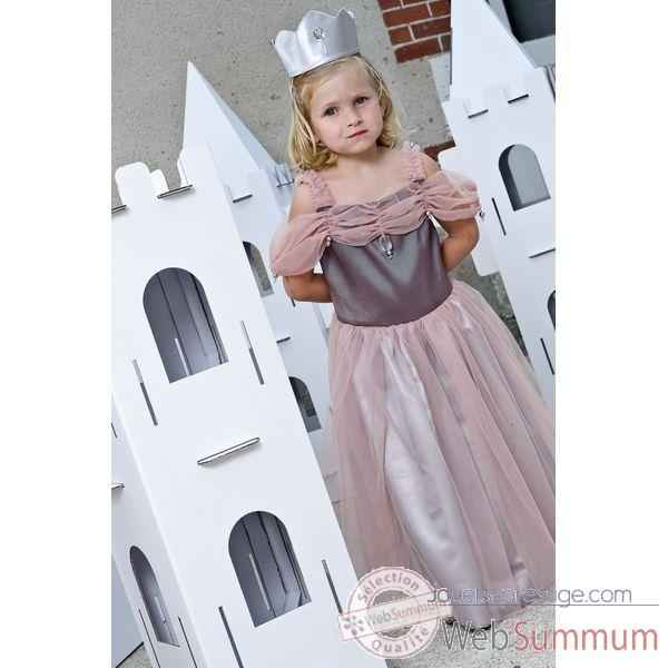 costume robe petite princesse 3 4 ans dans costumes filles. Black Bedroom Furniture Sets. Home Design Ideas