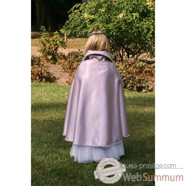 Costume Cape Reine reversible 6-8 ans