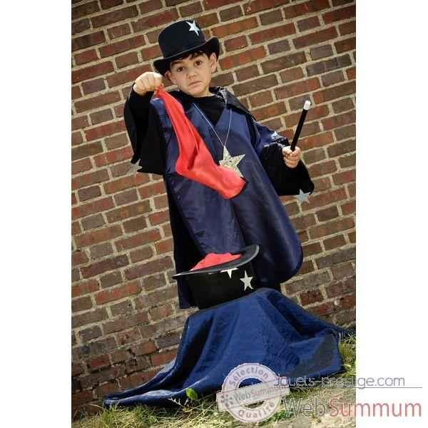 costume poncho magicien 6 8 ans dans costumes filles sur jouets prestige. Black Bedroom Furniture Sets. Home Design Ideas