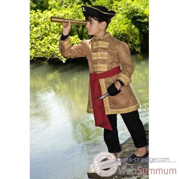 veste costume pirate 6 7 ans dans costumes filles sur jouets prestige. Black Bedroom Furniture Sets. Home Design Ideas