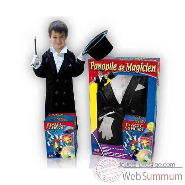Video Coffret Costume Magicien 100 tours 5-7 ans  Oid Magic avec DVD-COS5