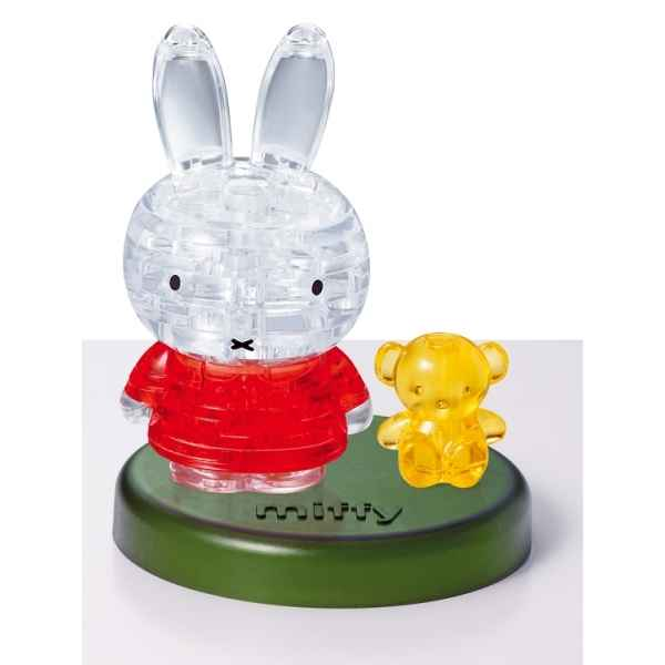 Puzzle 3d miffy et son ours Crystal Puzzle -6190143