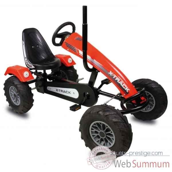 bf3 track x track rouge dino cars dans kart pedales divers marques. Black Bedroom Furniture Sets. Home Design Ideas