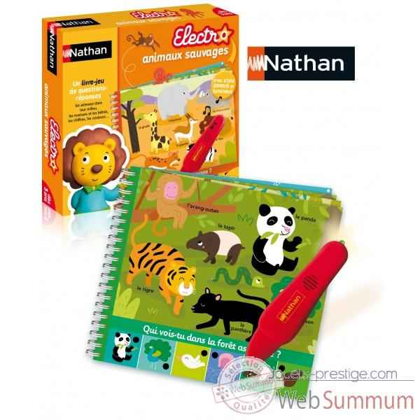Je decouvre les animaux sauvages Nathan -31452