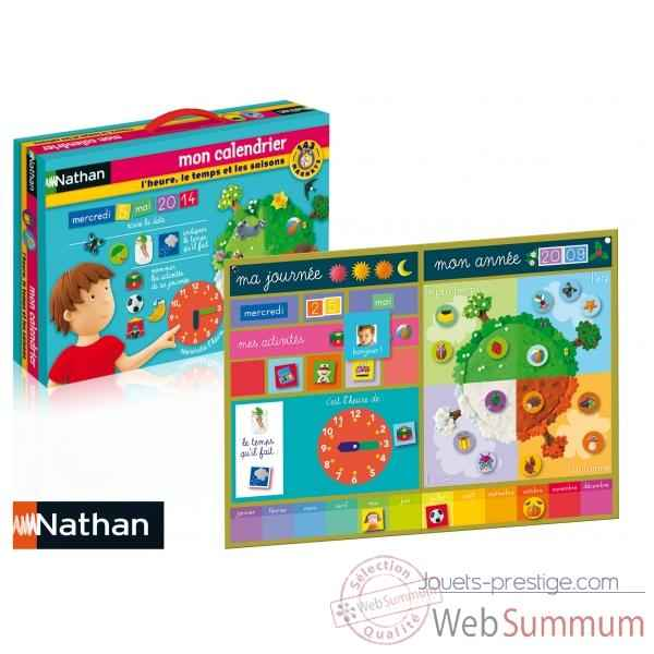 Mon calendrier magnetico Nathan -31043