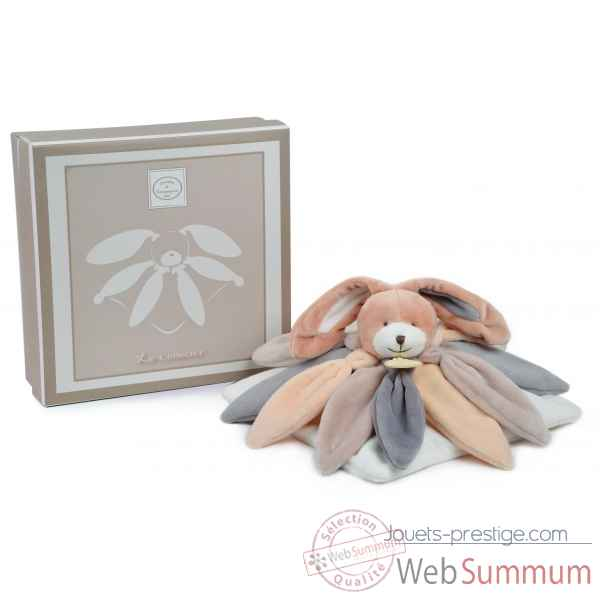 Doudou collector - lapin taupe Doudou et Compagnie -DC2792