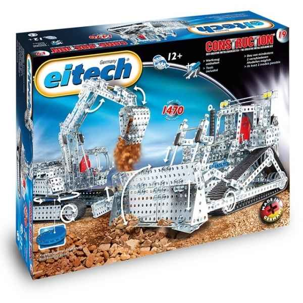 Eitech construction - mega bulldozer/pelleteuse -C19