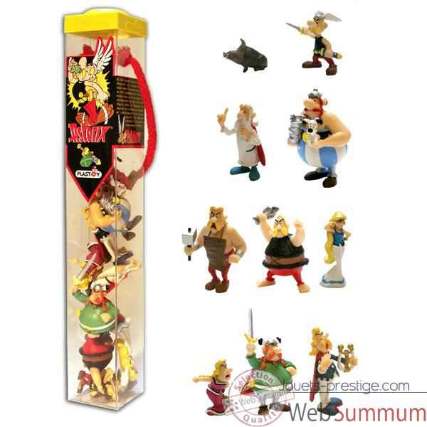 Figurine tubo Asterix 10 Figurines-70357
