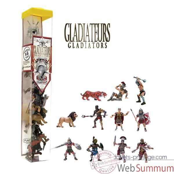 Figurine tubo les gladiateurs 11 Figurines-70362