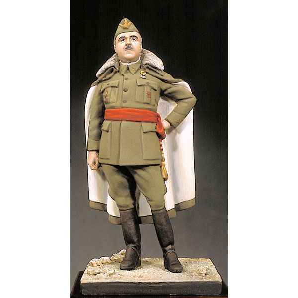 Figurine - Kit a peindre General Franco en 1938 - KSE-019