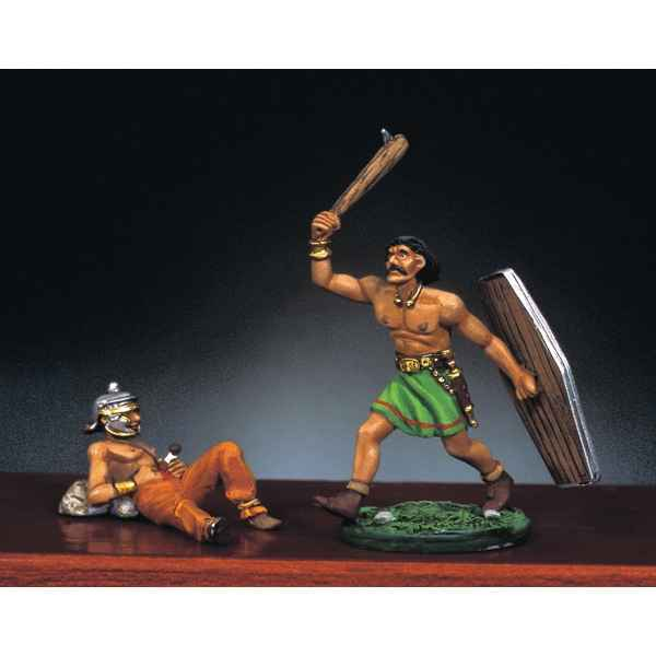 Figurine - Kit a peindre Guerriers barbares I - RA-020