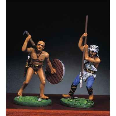 Figurine - Kit a peindre Guerriers barbares II - RA-021