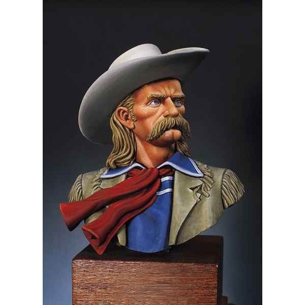 Figurines - Buste  L. C. George A. Custer en 1873 - S9-B01