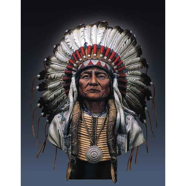 Figurines - Buste  Sitting Bull - S9-B10