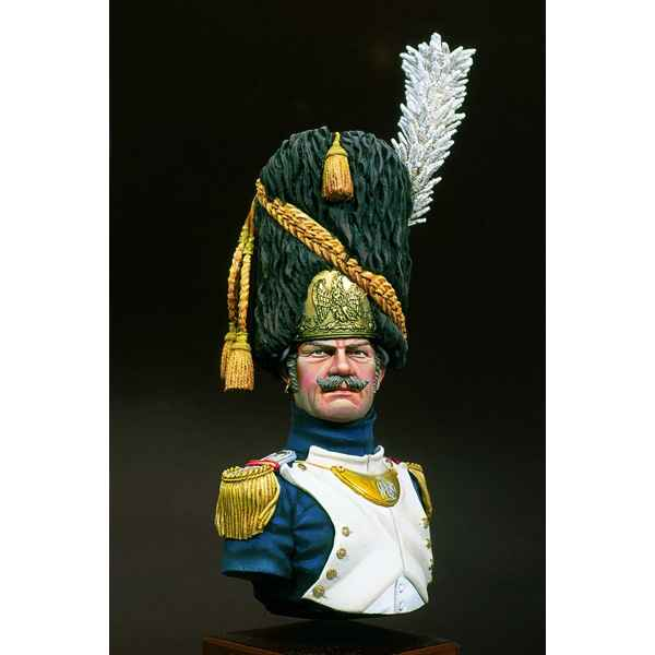 Figurines - Buste  Grenadier de la garde imperiale  major - S9-B15