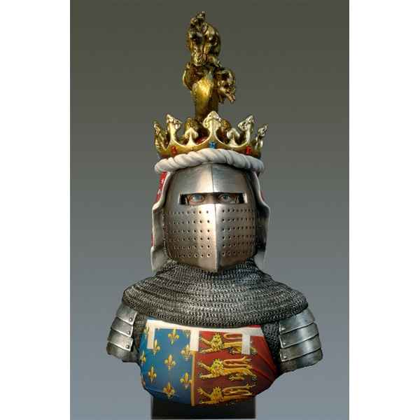 Figurines - Buste  The Black Prince en 1330-1376 - S9-B21