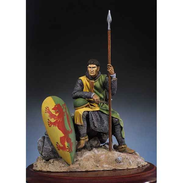 Figurine - Kit a peindre Chevalier normand en 1180 - SM-F12