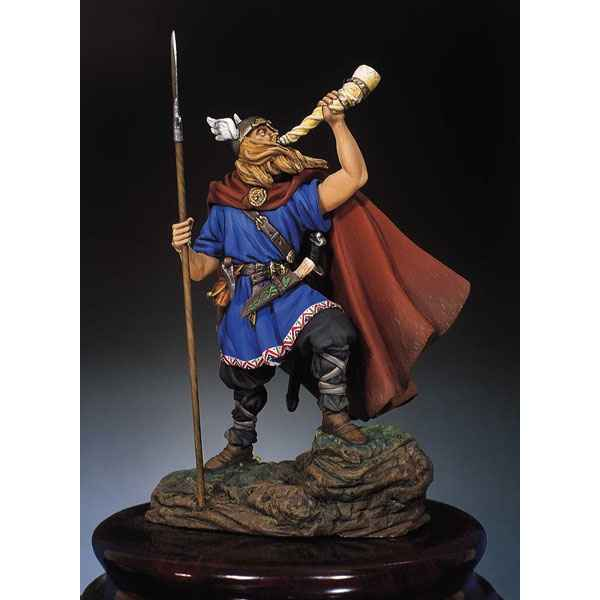 Figurine - Kit a peindre Guerrier viking en 900 - SM-F21