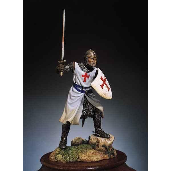 figurine kit peindre chevalier de l 39 ordre des templiers en 1200 sm f22 jouets. Black Bedroom Furniture Sets. Home Design Ideas