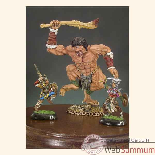 Video Figurine - Kit a peindre Cyclope et guerriers - F-005