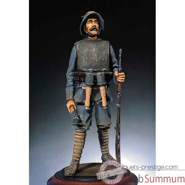 Figurine - Kit a peindre Fantassin allemand portant une armure - S3-F7